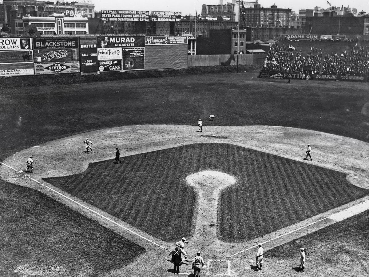 Fenway Park in 1917.