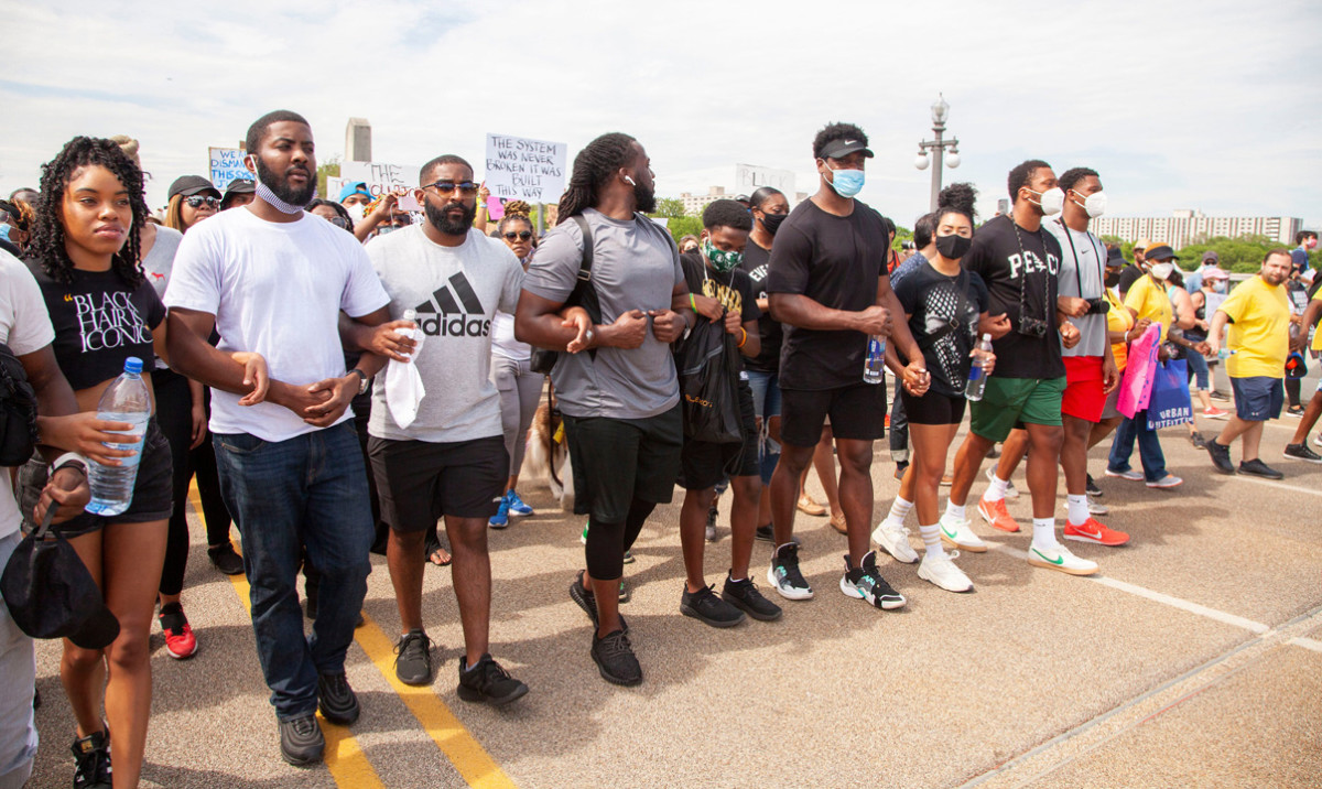 Belle Isle Freedom March - Friday June 5, 2020