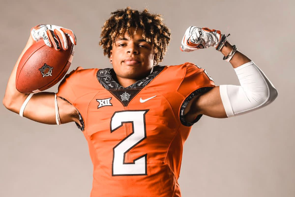 Reagan is anxious to get started with his Oklahoma State career.