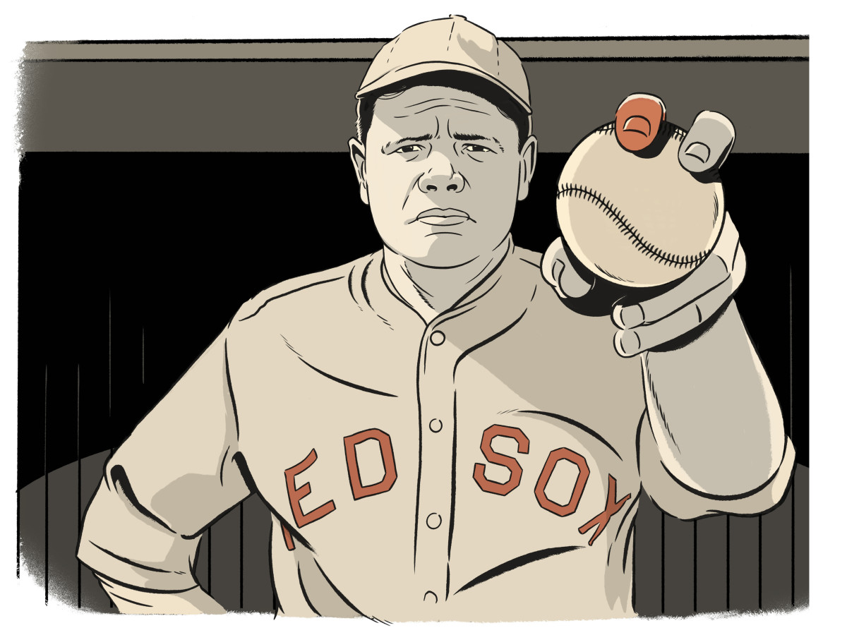 babe-ruth-pitcher