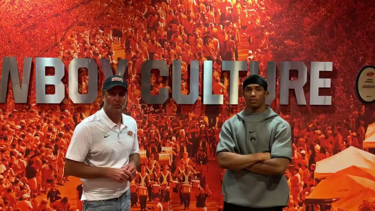 Head coach Mike Gundy and All-American running back Chuba Hubbard spoke after meeting about reaching an understanding.