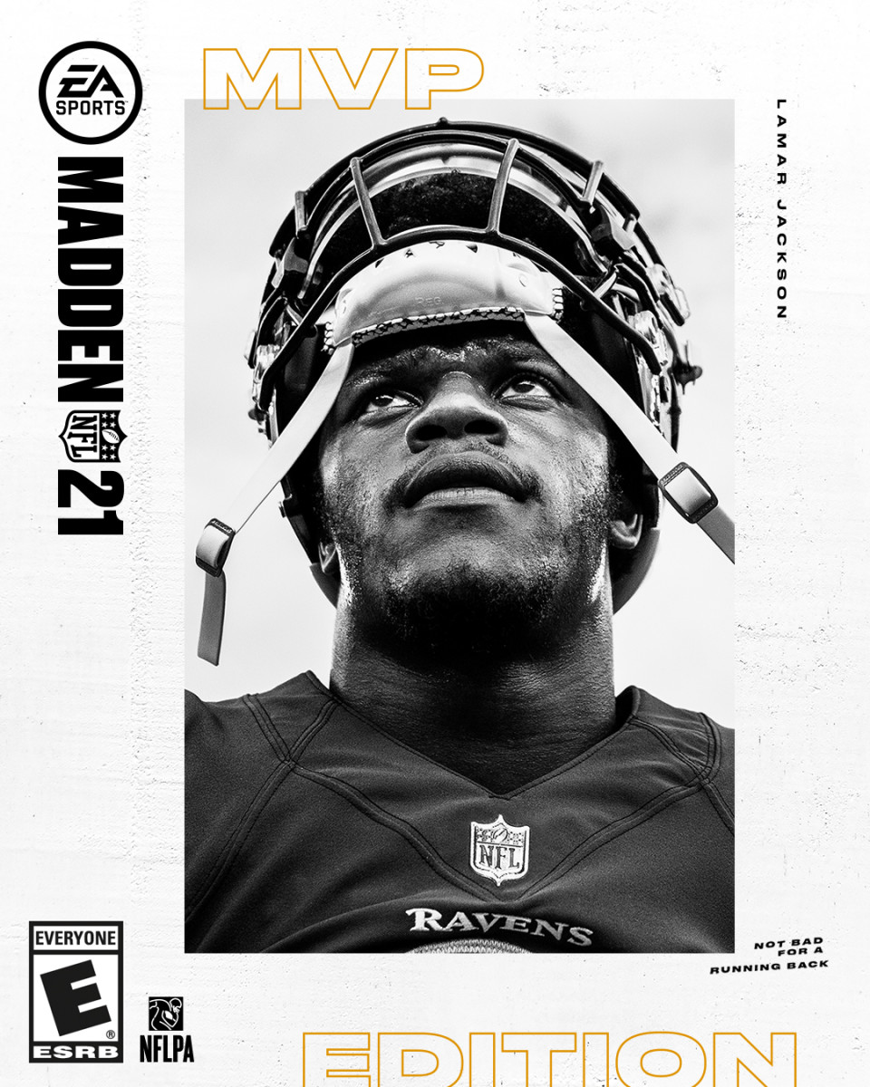 Lamar Jackson's Madden cover