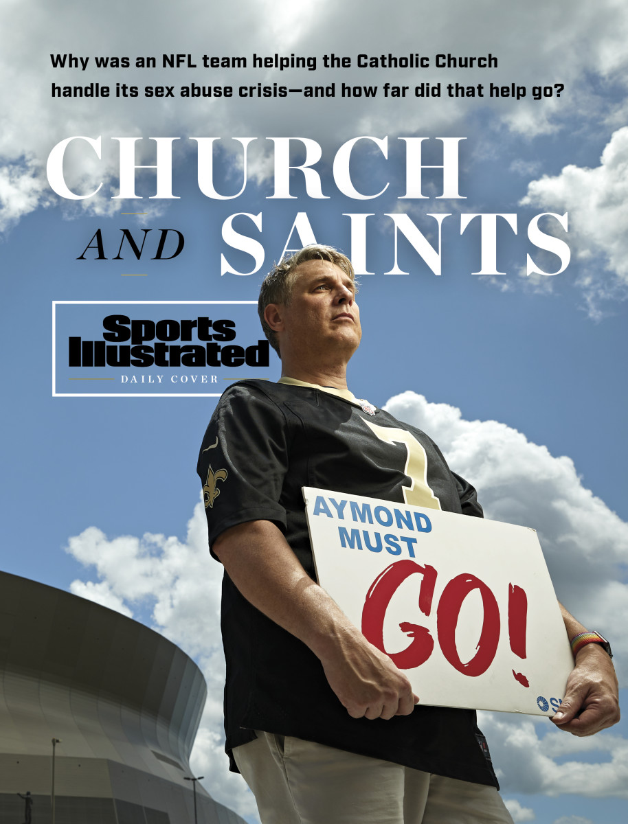 """A survivor of clergy abuse and a longtime Saints season-ticket holder, Kevin Bourgeois wants New Orleans Archbishop Gregory Aymond replaced—and says the Saints are """"not to be trusted."""""""