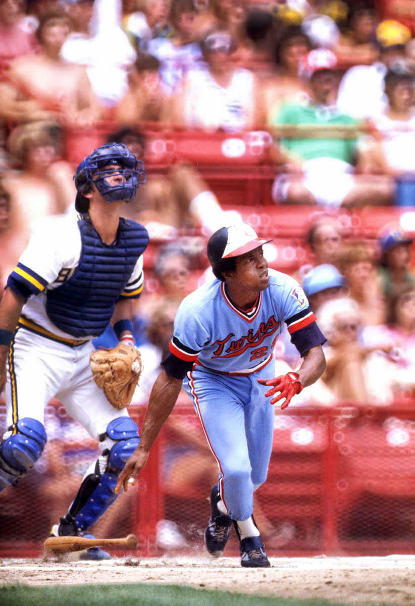 """Carew in 1978, his final season in Minnesota before he forced a trade away from Griffith, who he called """"a bigot."""""""