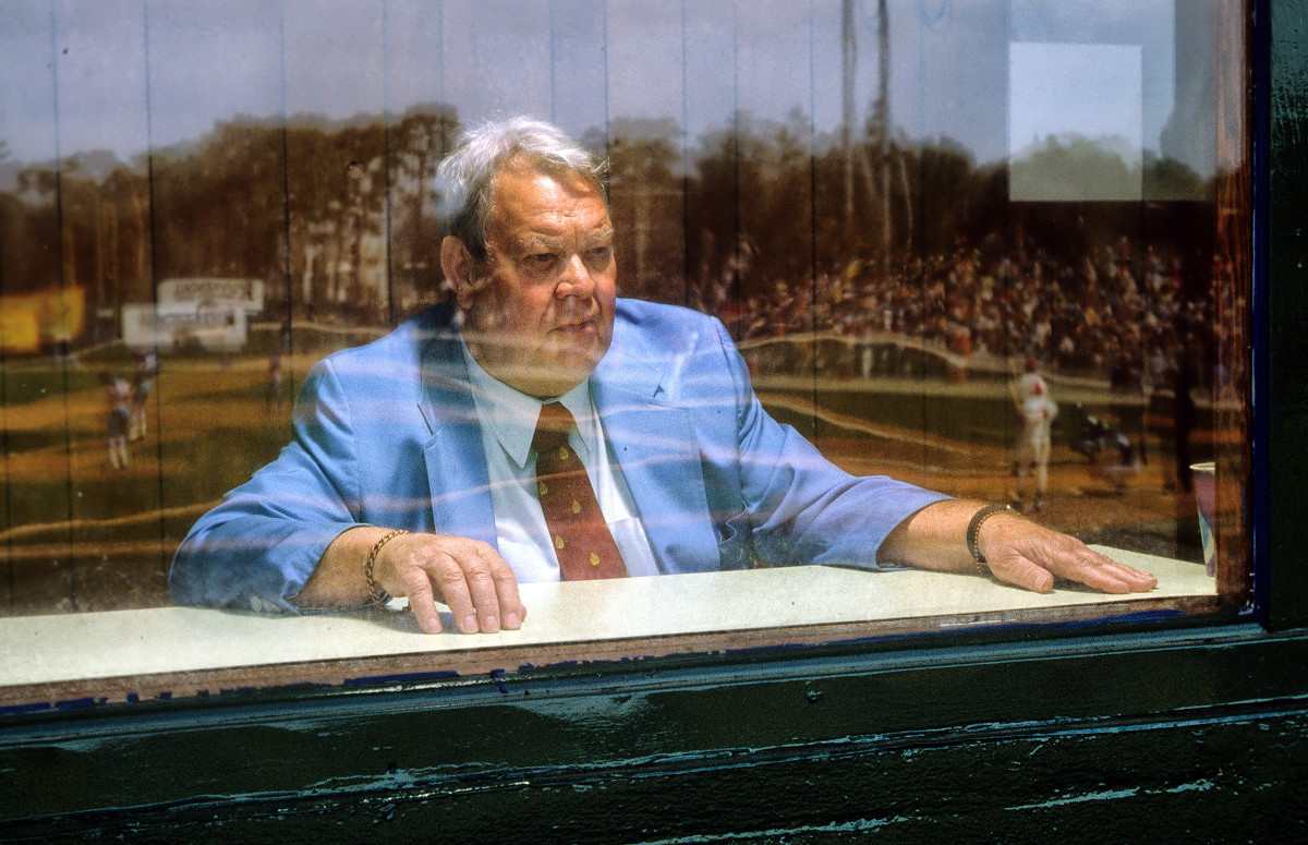 Griffith watches over Twins spring training in 1983.