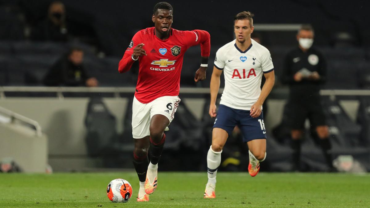 Paul Pogba returned for Manchester United