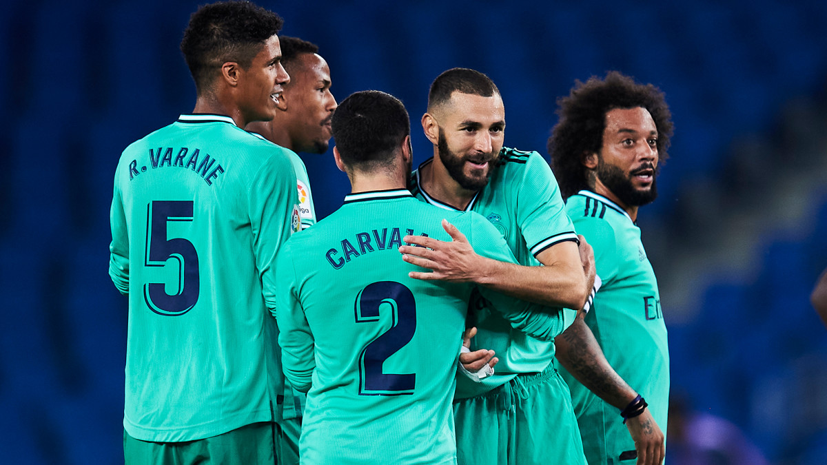 Real Madrid is in position to win La Liga