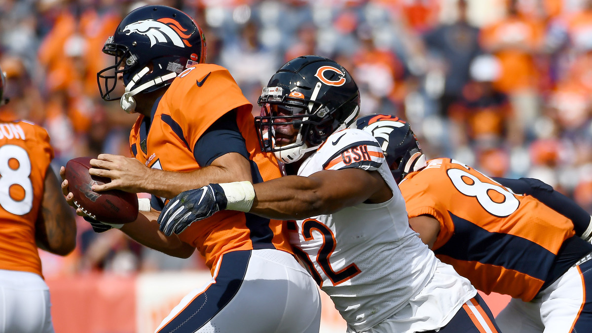 Mack's 8.5 sacks last season were his fewest since his rookie campaign of 2014.