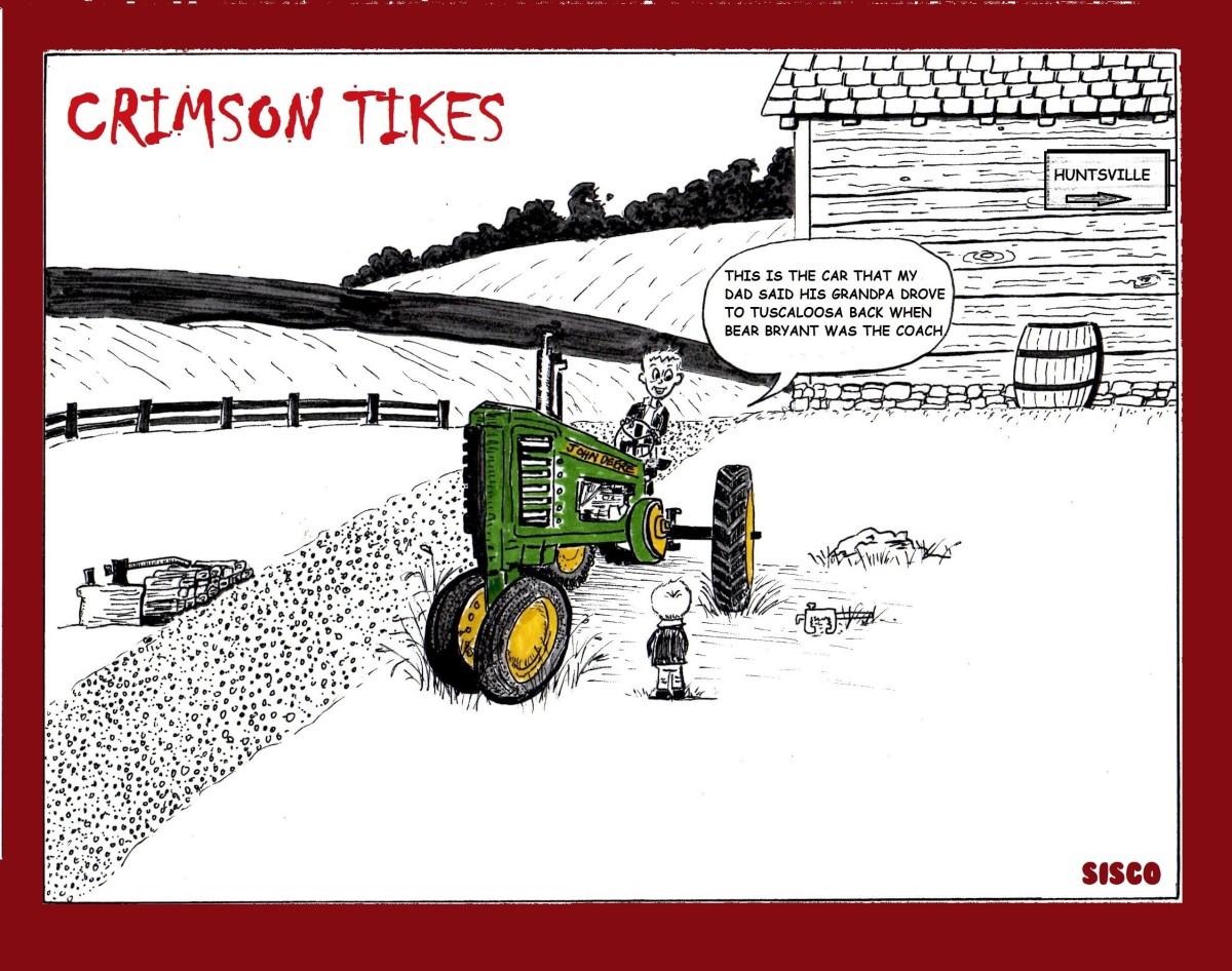Crimson Tikes: Deere Power