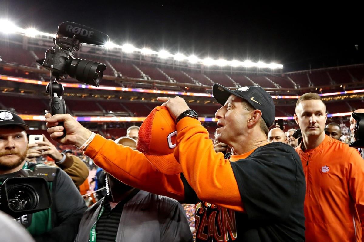 Dabo Swinney: 'The best gutter cleaner out there'
