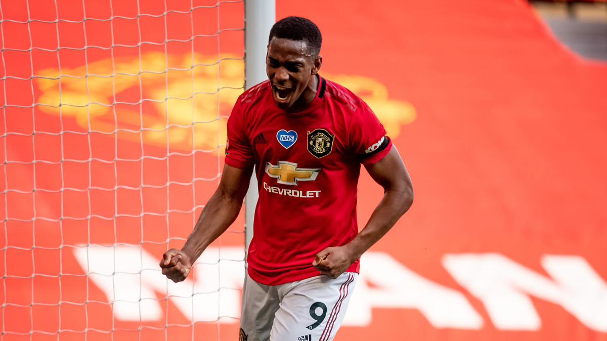Anthony Martial Nets Hat Trick for Man United in Vital Win vs. Sheffield United