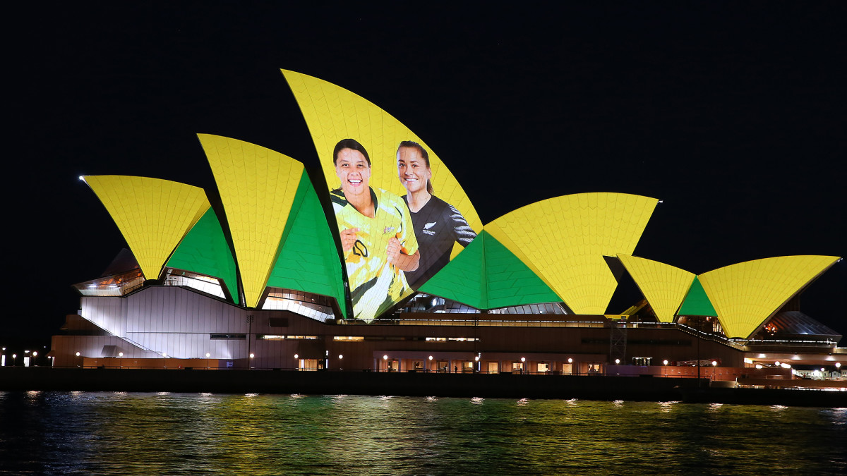Australia and New Zealand will host the 2023 Women's World Cup