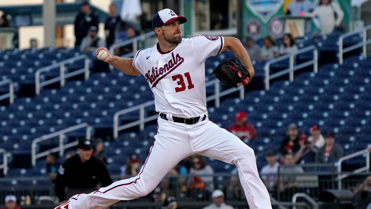 Max Scherzer of the Washington Nationals will reportedly face off against the New York Yankees on Opening Day of the 2020 MLB season.