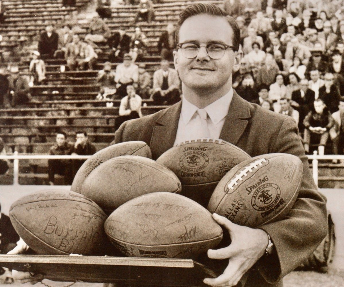 Lamar Hunt - Owner of the Kansas City Chiefs and AFL's Dallas Texans