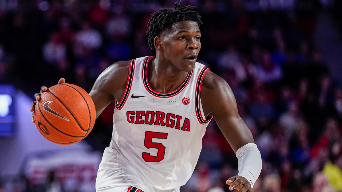 Former Georgia guard Anthony Edwards has signed to be represented by Rich Paul and Klutch Sports Group.