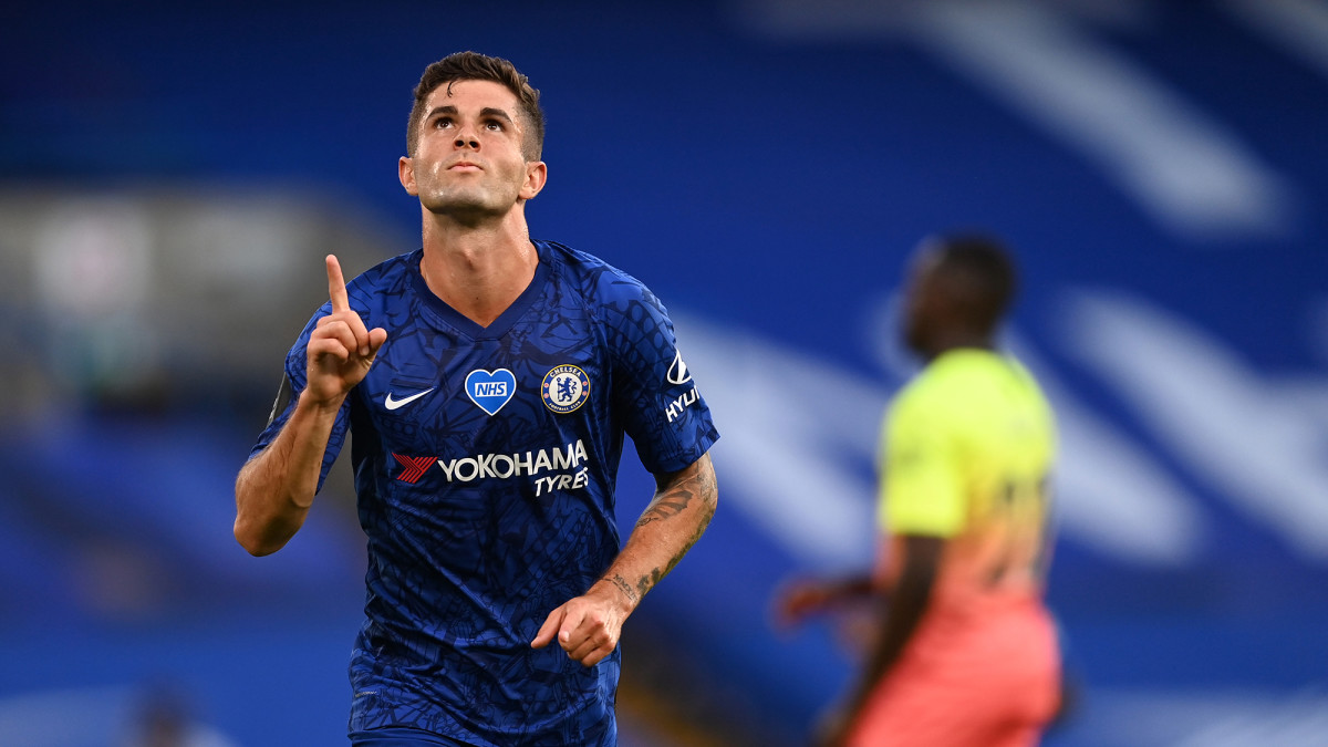 Christian Pulisic has three goals and three assists since the Premier League's restart