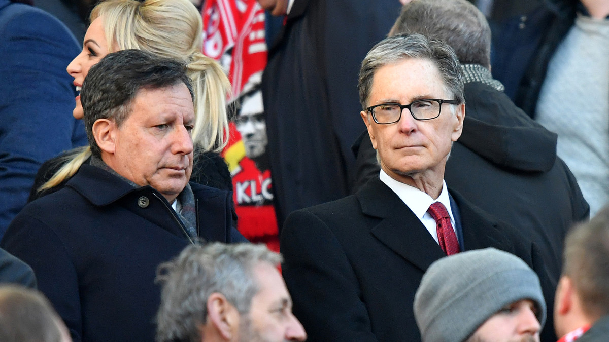 Liverpool owners Tom Werner and John Henry