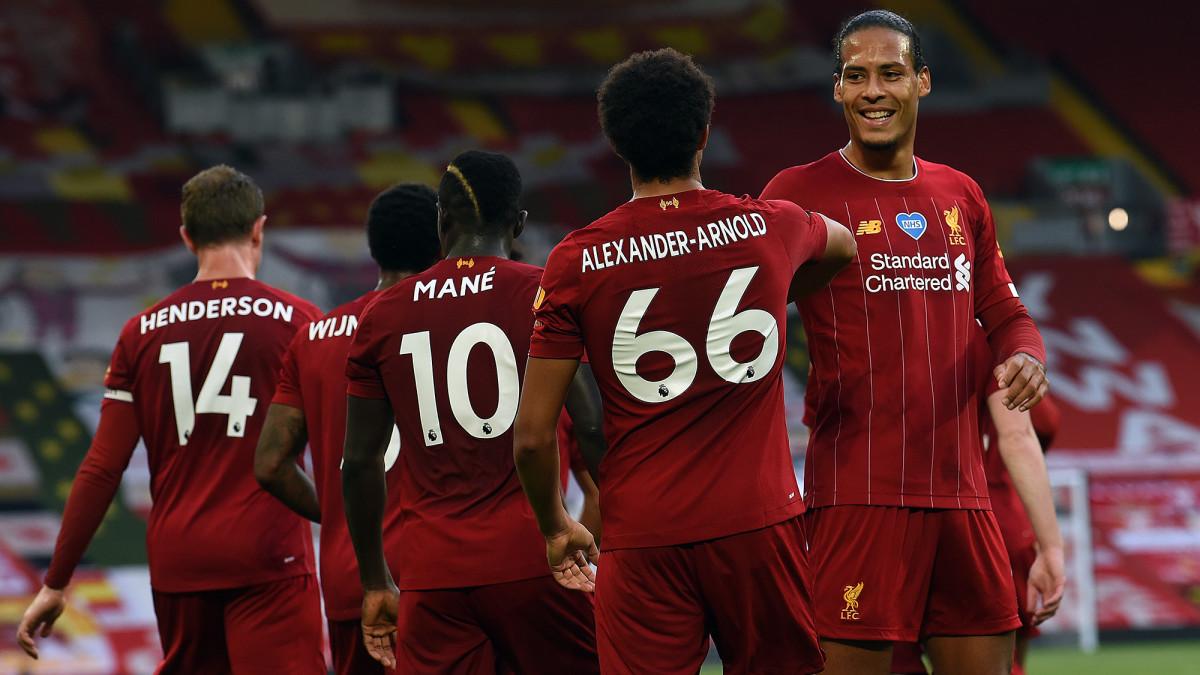 Liverpool wins the 2019-20 Premier League title