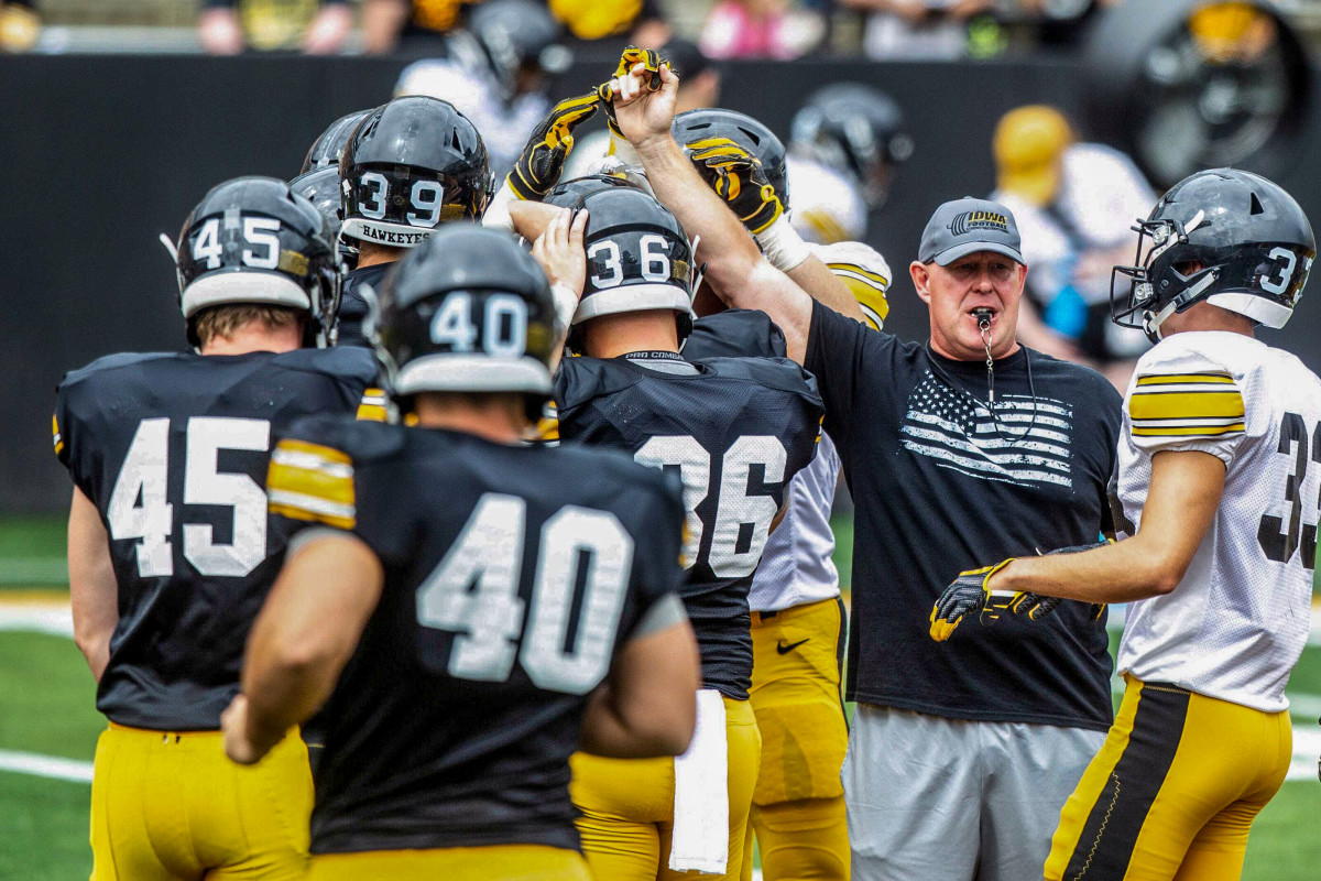 Twenty-one years into his Iowa stay, Doyle left in June after former players spoke up.