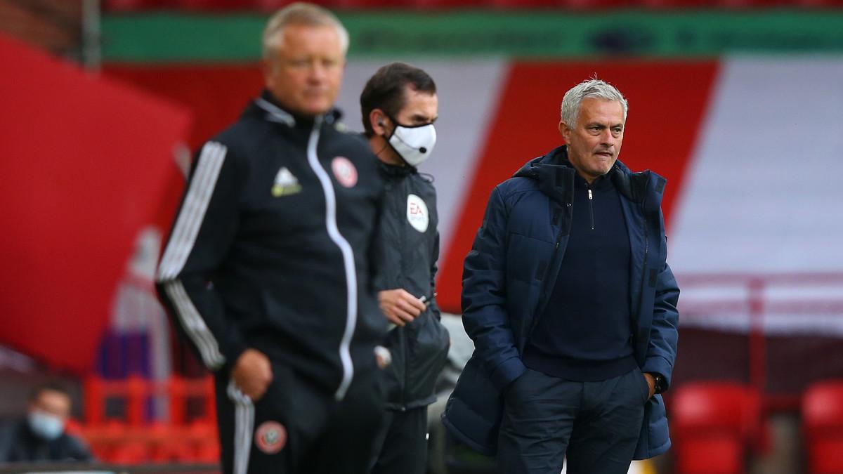 Mourinho Bemoans Tottenham's Mentality, VAR After Crushing Defeat to Sheffield United
