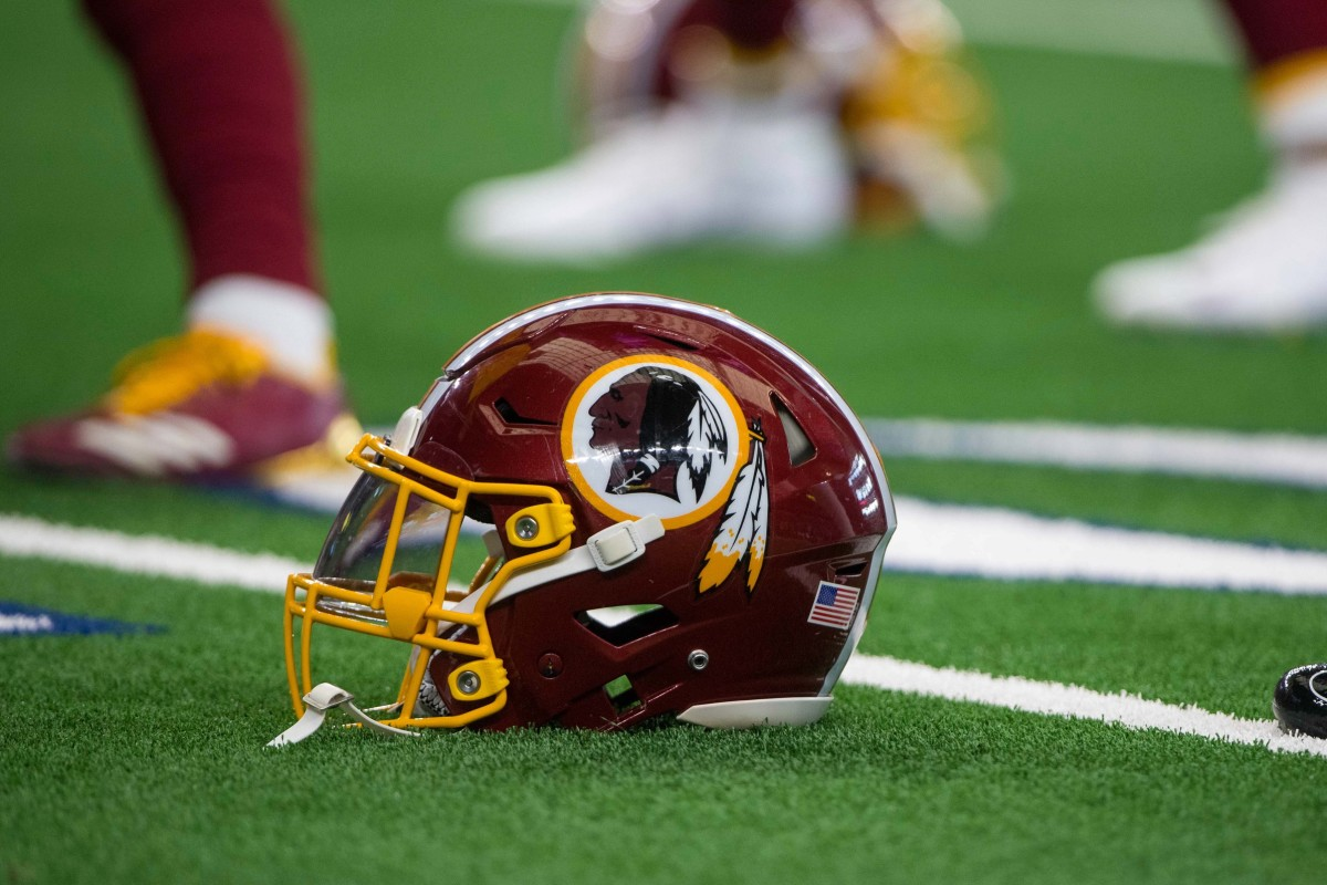 New Redskins Helmet © Jerome Miron-USA TODAY Sports