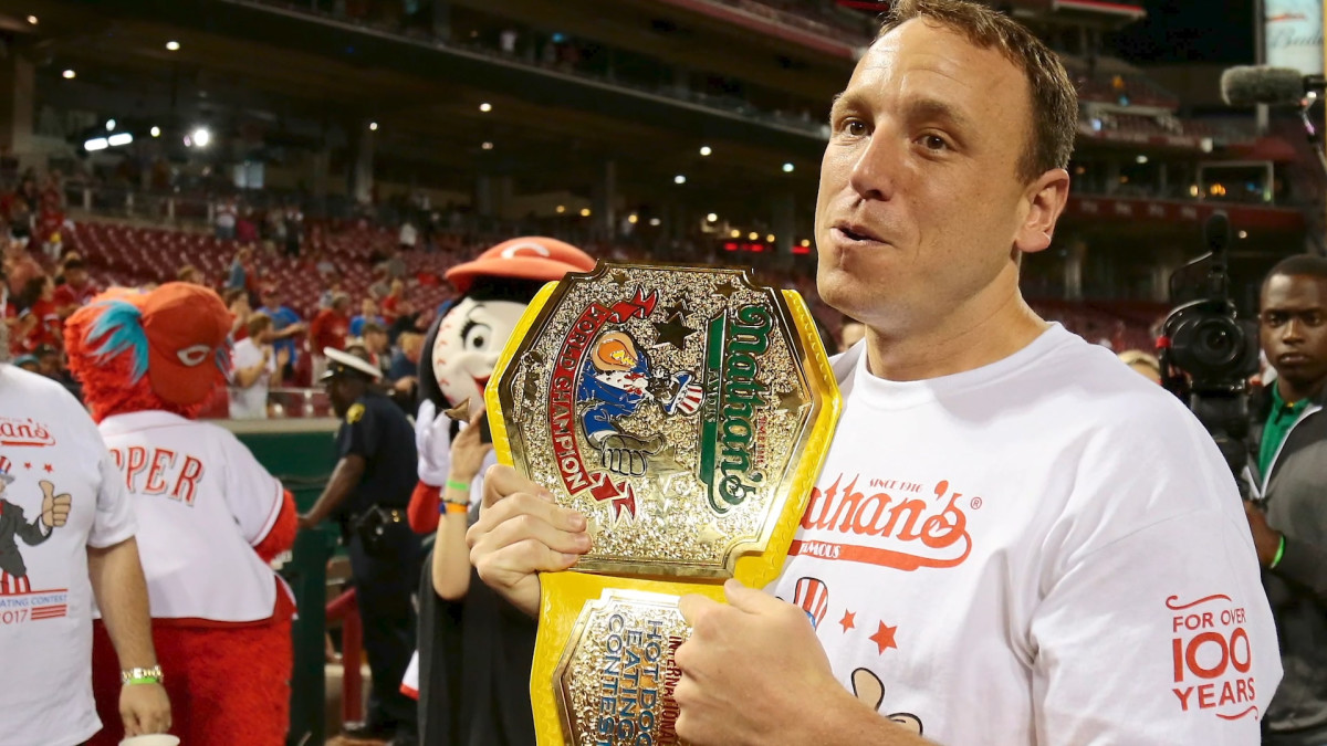 Joey Chestnut, Miki Sudo Have Record-Breaking Performances at Nathan's Hot Dog Eating Contest
