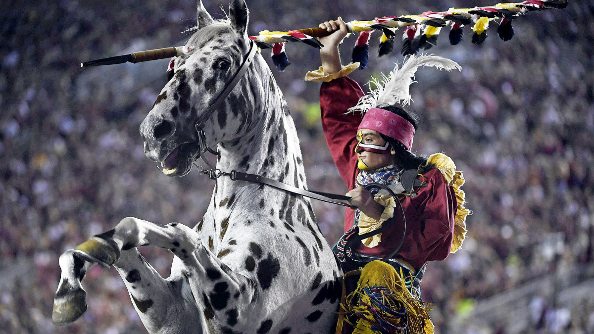 FSU's Chief Osceola and Renegade mascots are sure to face heightened scrutiny.