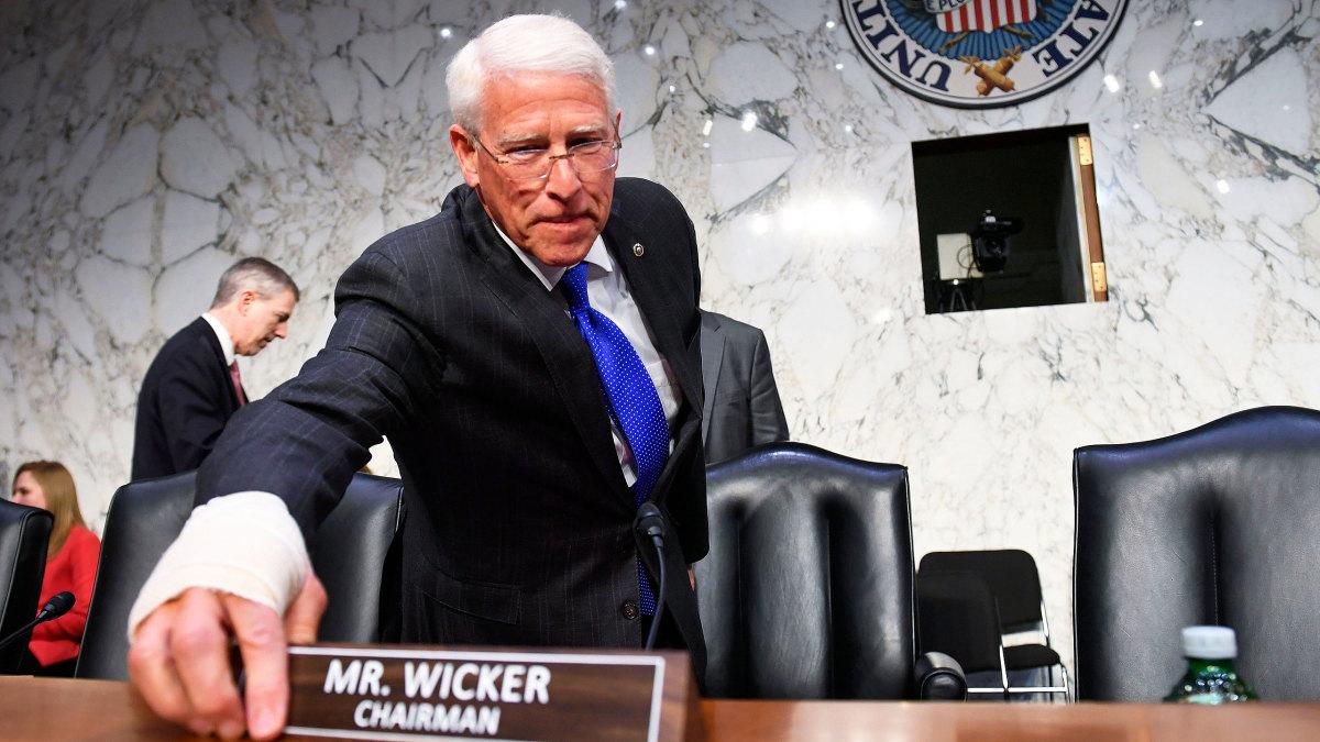 US Senator Roger Wicker