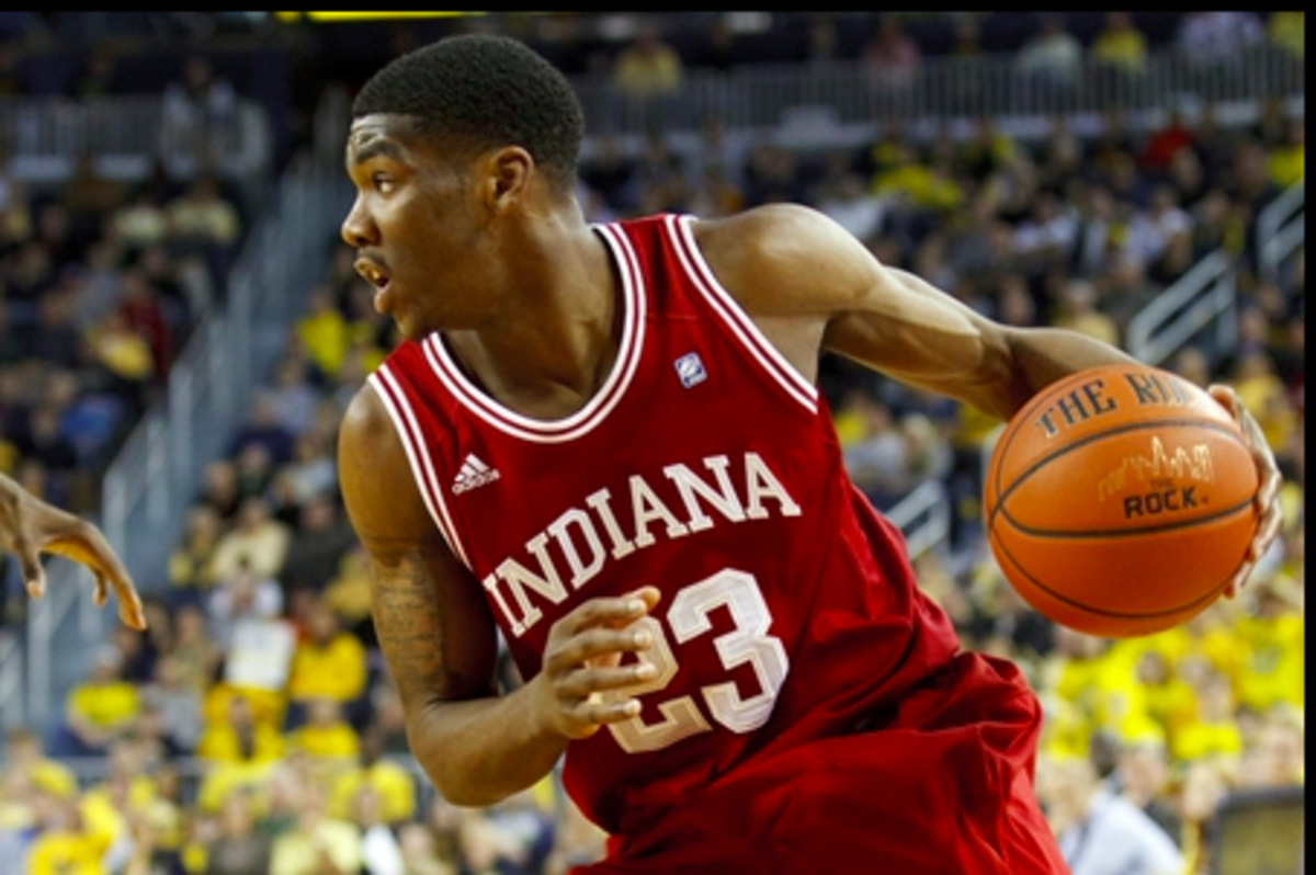 Remy Abell played two seasons at Indiana before transferring to Xavier.