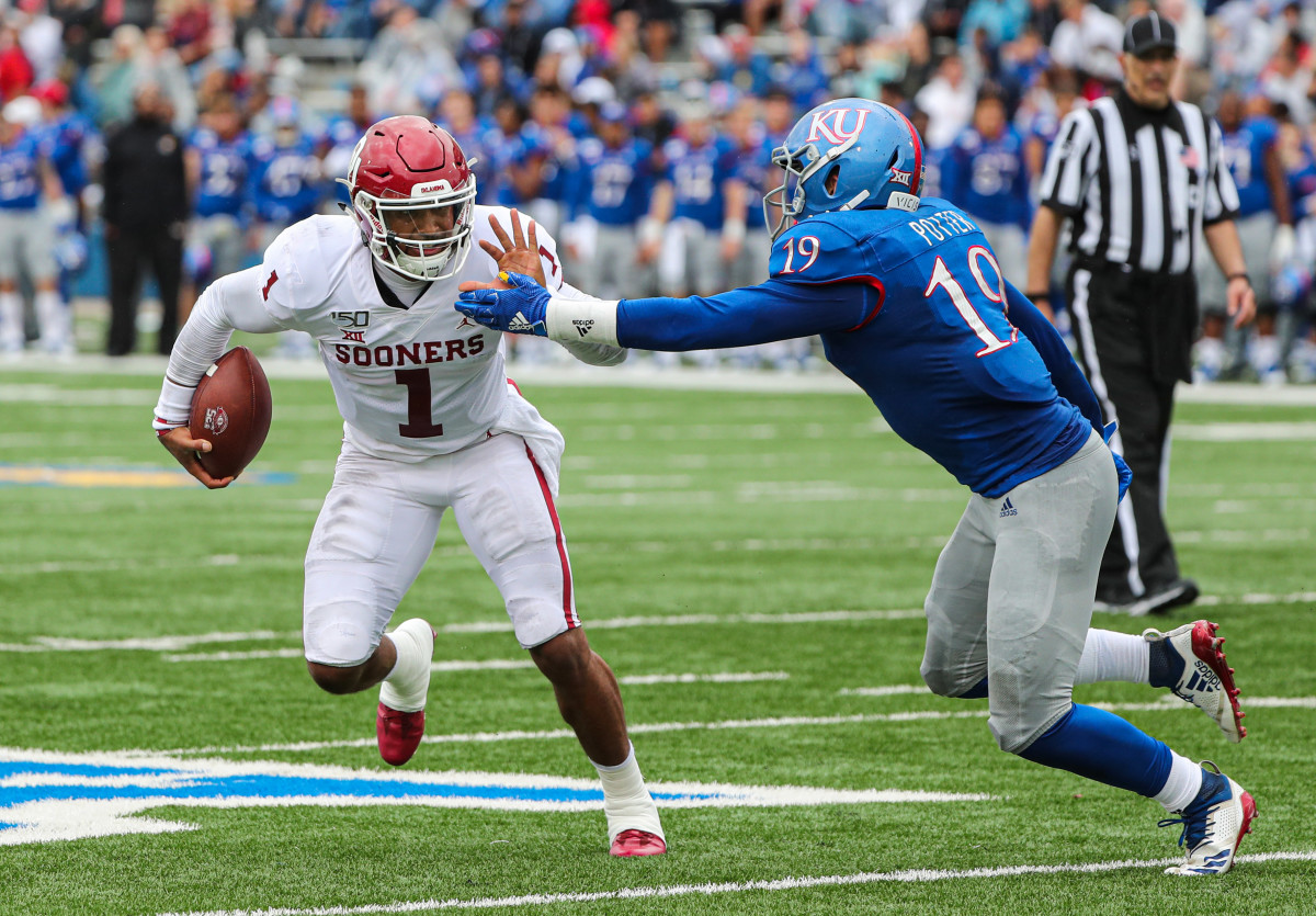 Alabama transfer Jalen Hurts bridged the gap in the OU quarterback room, finishing second in the Heisman Trophy voting.