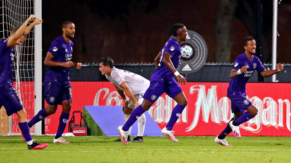 Nani and Orlando City win the first game at MLS Is Back