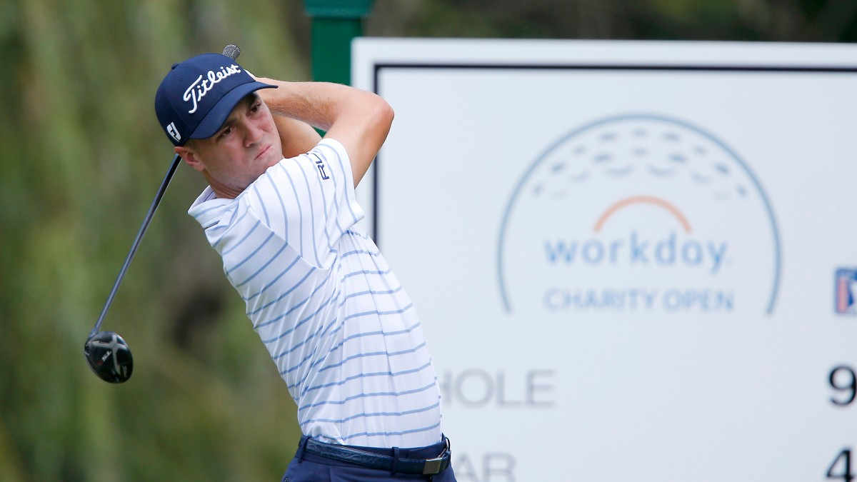 Justin Thomas Leads Workday Charity Open After Three Rounds, Remains Bogey-Free