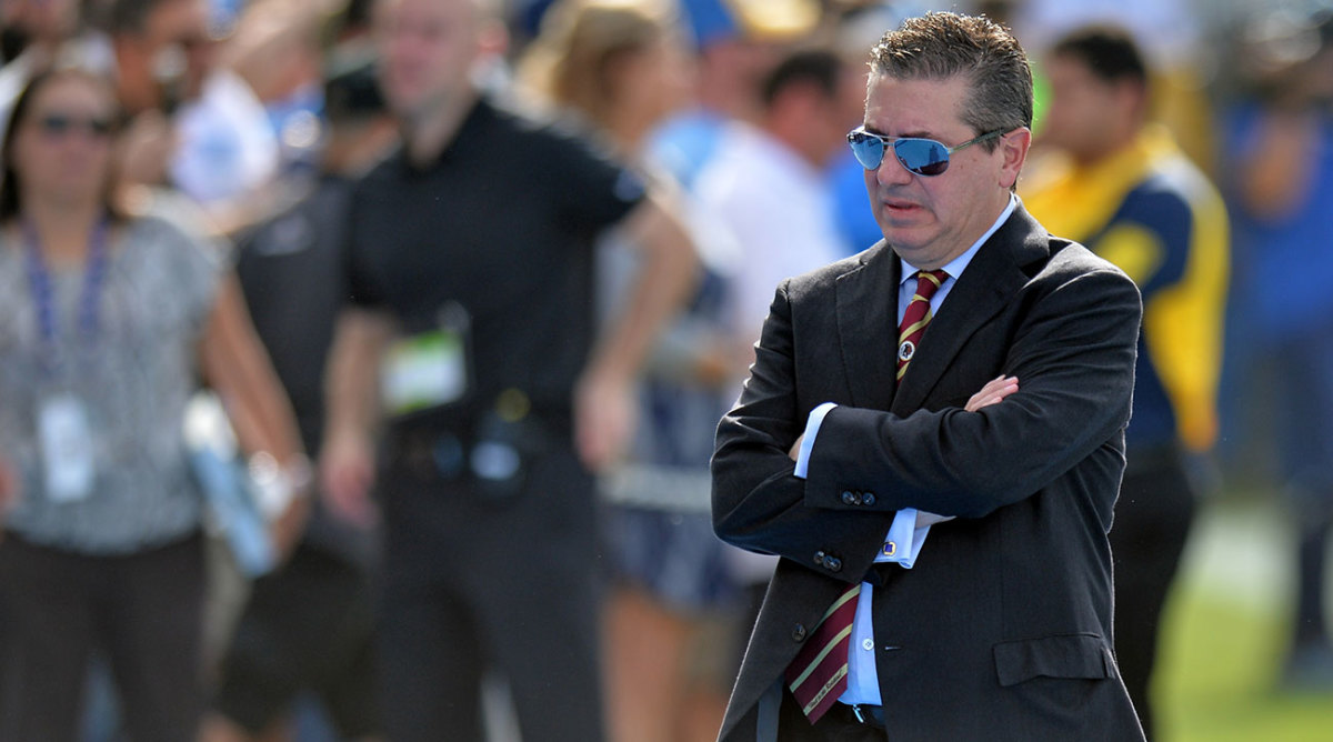 Daniel Snyder crossing his arms