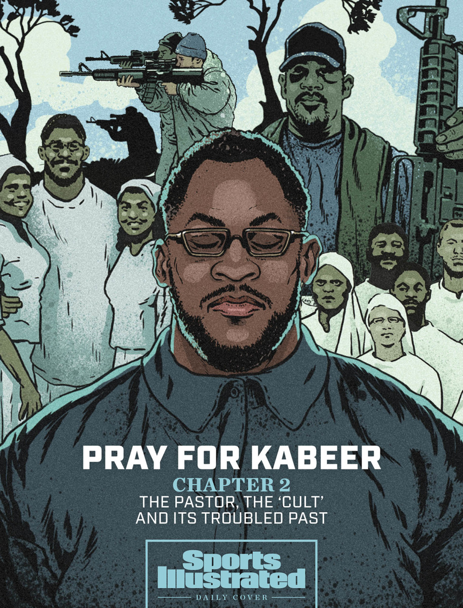 SI daily cover on ex-Packers star Kabeer Gbaja-Biamila and the 'cult' he joined