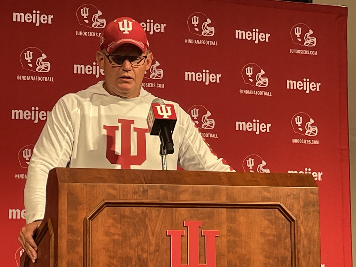 Indiana coach Tom Allen said that X-rays and an MRI on Michael Penix Jr.'s right hand came back negative.
