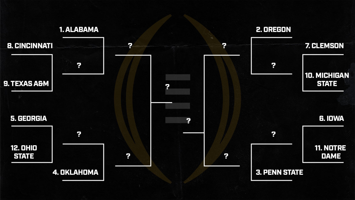 College Football Playoff: Hypothetical 12-team field after Week 3