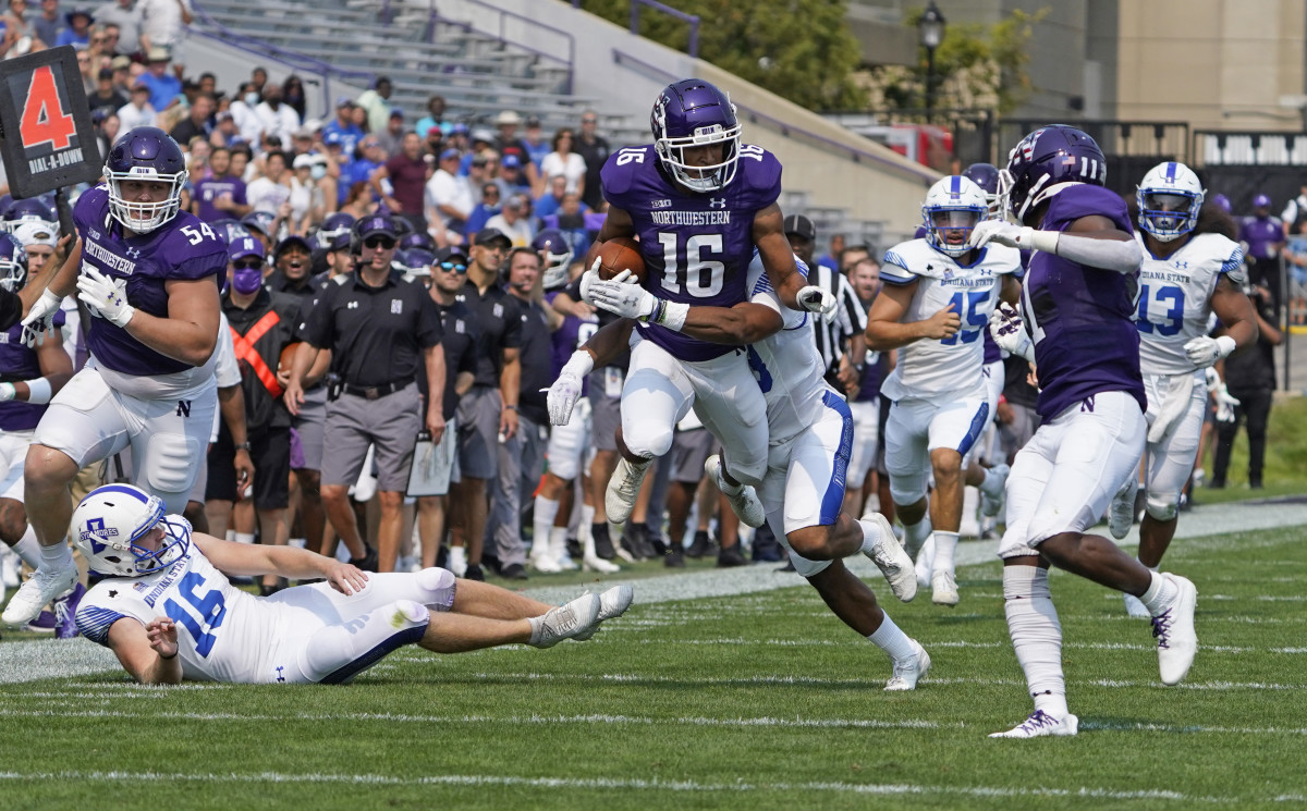 Northwestern's Brandon Joseph is a possible first-round talent at safety.