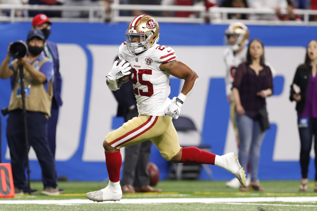 Elijah Mitchell seems to have carved out the clear-cut starting role for himself in San Francisco.