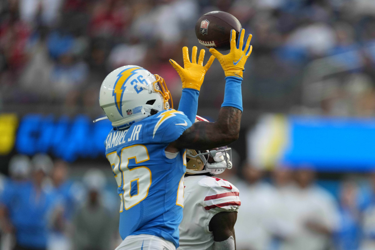 Asante Samuel Jr has been a tremendous addition to the Chargers.