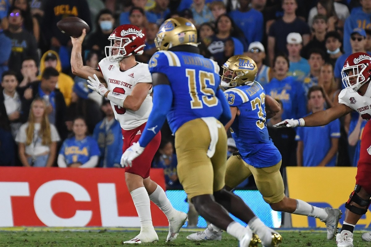 UCLA couldn't contain Jake Haener, who threw for 455 passing yards.