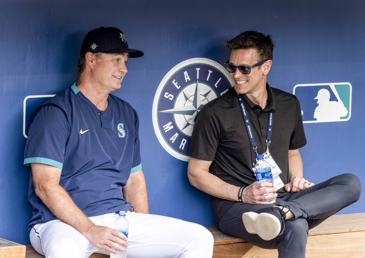 Scott Servais and Jerry Dipoto