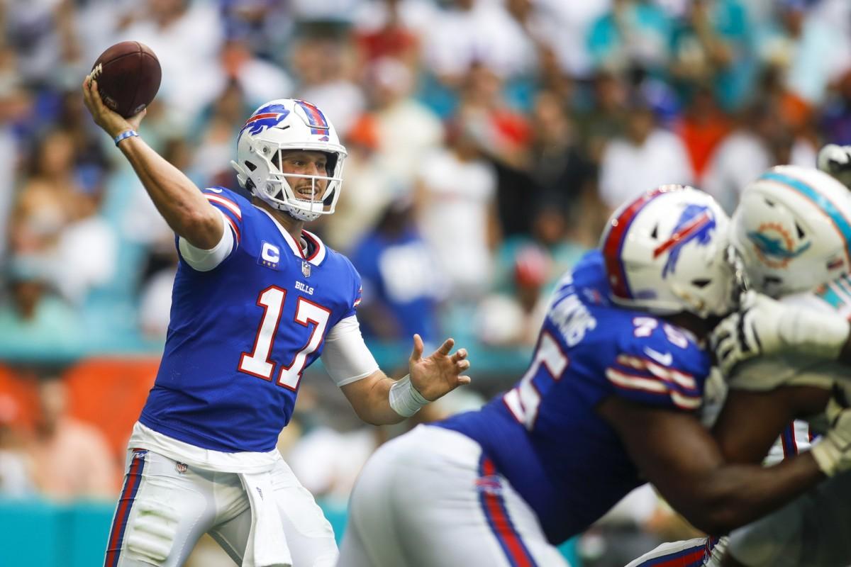 Bills quarterback Josh Allen.