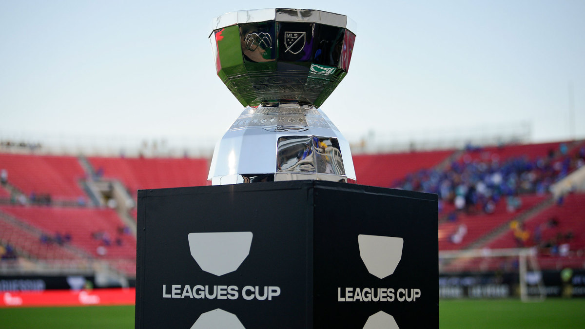 The Leagues Cup trophy