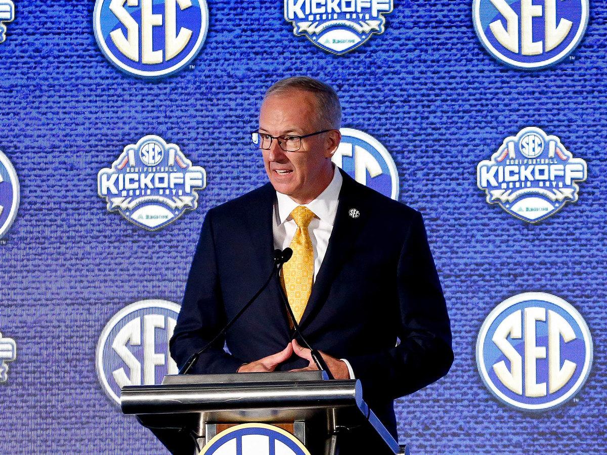 Greg Sankey, SEC commissioner
