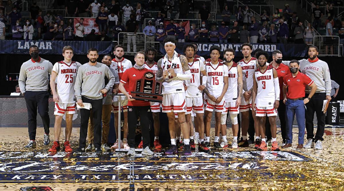 Nicholls State men's basketball team