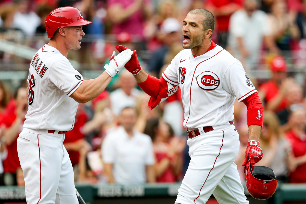 Votto wants to spend his entire career with the Reds. He likes the idea of retiring with the team that drafted him.