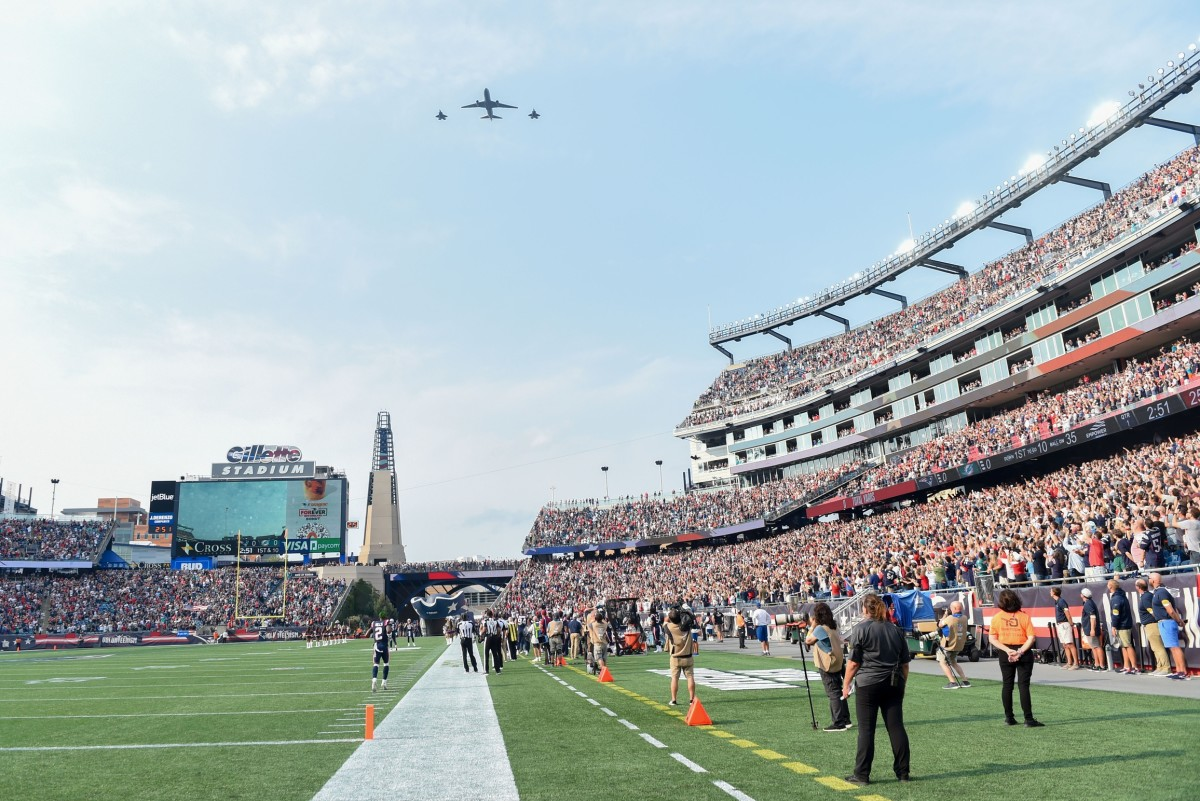 The Saints will have to face a hostile crowd in Foxborough.