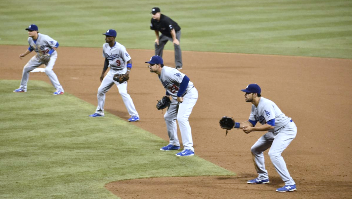 Extreme infield shift in 2014 • Associated Press