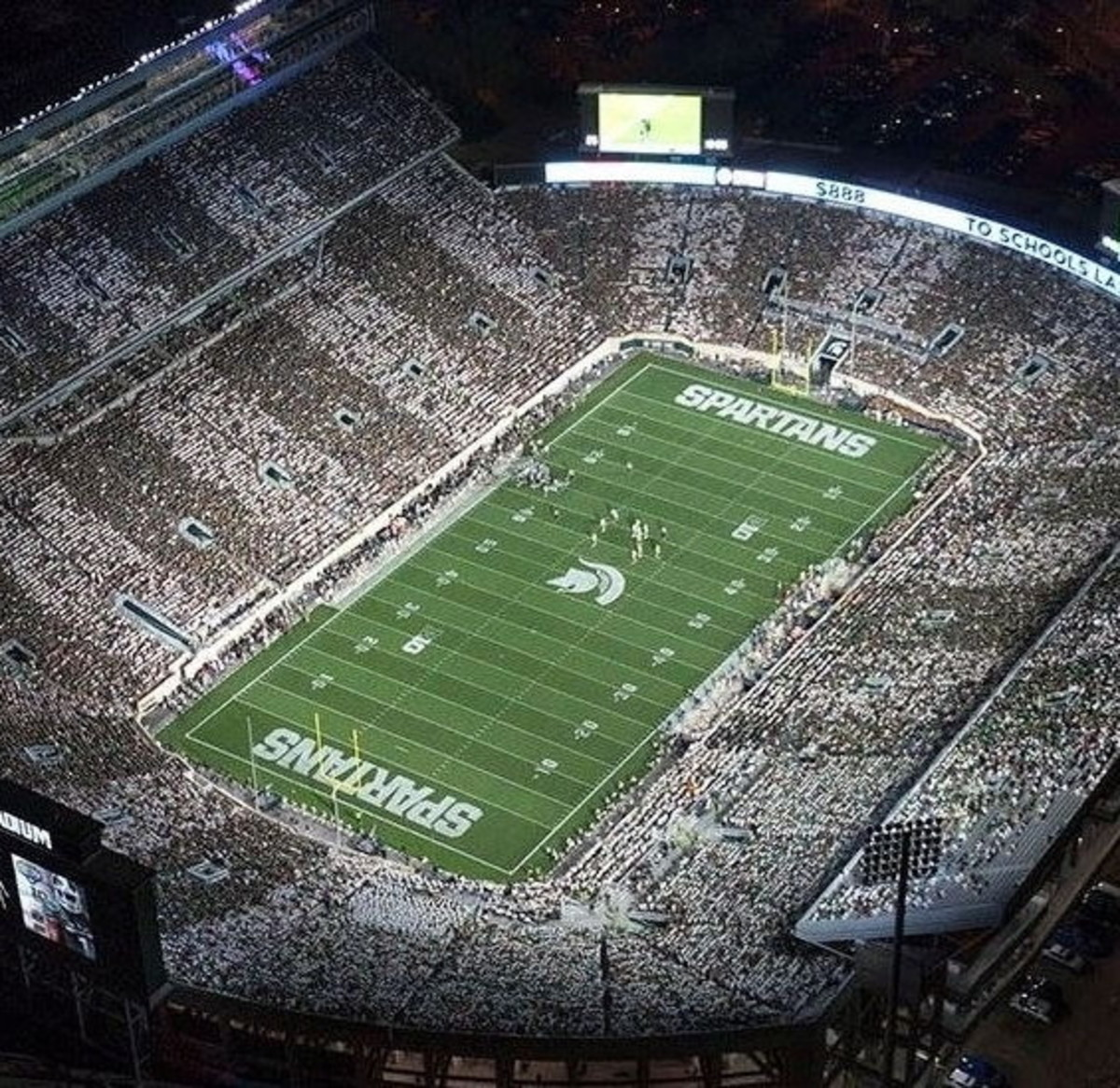 "MSU will ""stripe the stadium"" Saturday night."