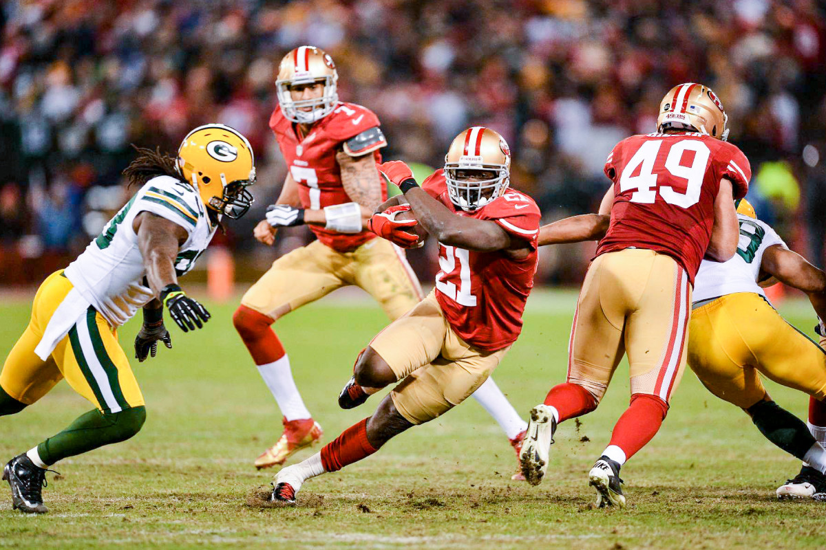 Gore Sr. rushed for more than 1,000 yards eight times during his 10 seasons in San Francisco.